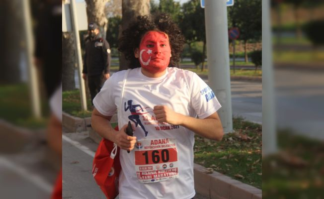 Maskeli, dezenfeksiyonlu maraton
