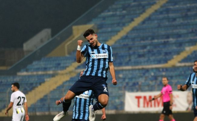 TFF 1. Lig: Adana Demirspor: 3 - Menemenspor: 0 (İlk yarı)