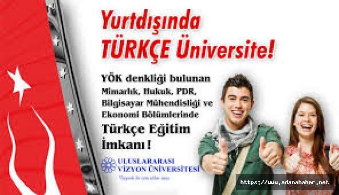 Yurt dışında TÜRKÇE üniversite