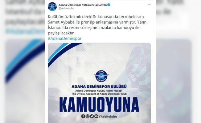ADS Samet Aybaba ile anlaştı