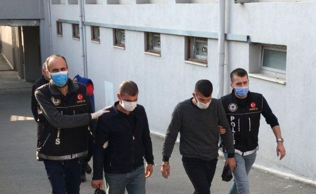 Suçüstü yakalanan torbacılar tutuklandı