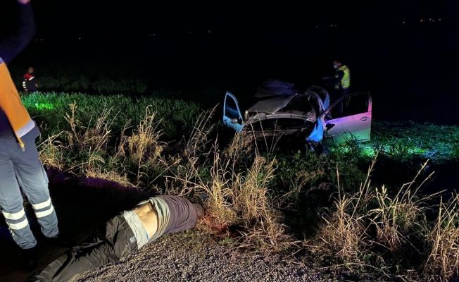Kozan'da trafik kazası: 1 ölü, 2 yaralı