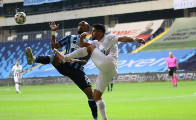 TFF 1. Lig: Adana Demirspor: 0 - Bandırmaspor: 0 (İlk yarı)