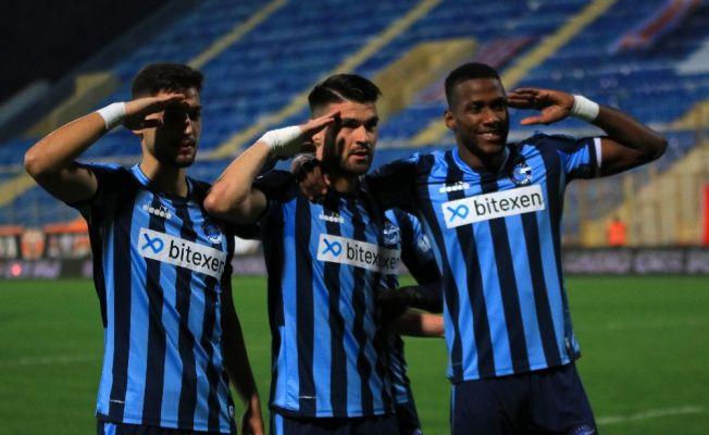 TFF 1. Lig: Adanaspor: 0 - Adana Demirspor: 1 (İlk yarı sonucu)