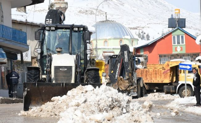 """Başkan Remzi Ergü: """"Kar senesi, var senesi"""""""
