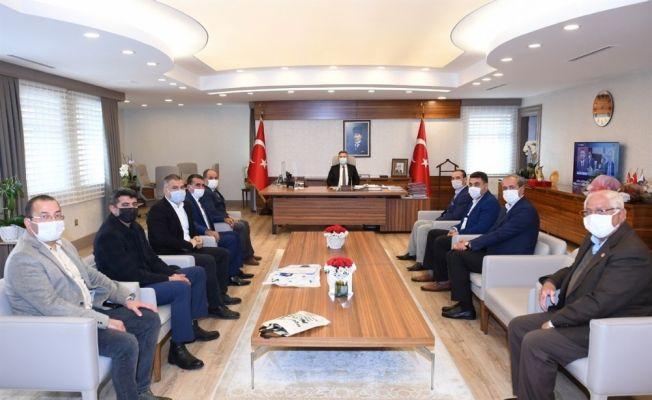 """Vali Elban: """"Muhtarlarımıza elimizden gelen desteği vermeye devam edeceğiz"""""""