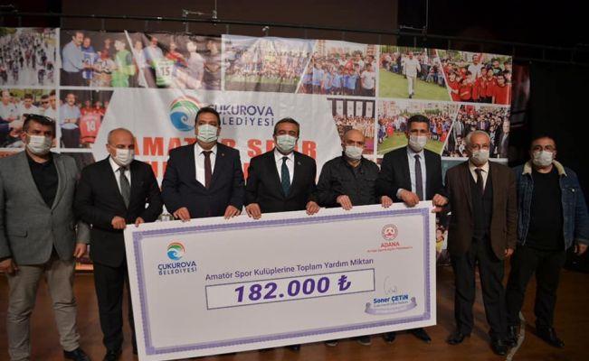 67 spor kulübüne 182 bin TL yardım