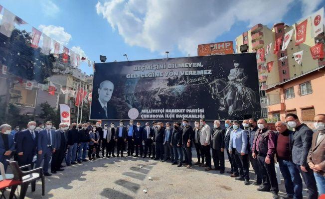 Adana'da muhalefetten MHP'ye katılım