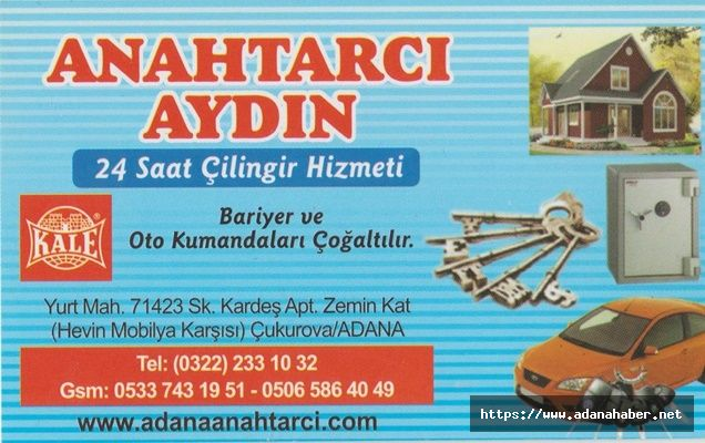 ANAHTARCI AYDIN