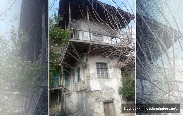 Asırlık Sepetseyrek konağı restore edilmeyi bekliyor