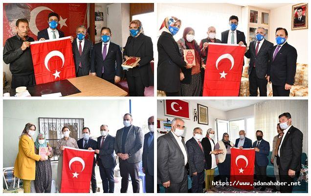 Başkan Uludağ'dan anlamlı ziyaret