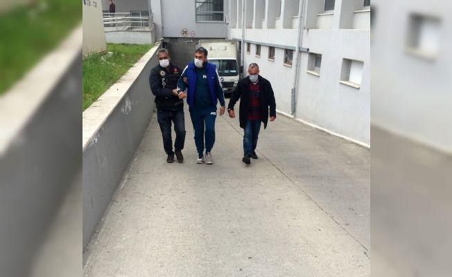 Hapçı baba tutuklandı, oğlu ev hapsi aldı