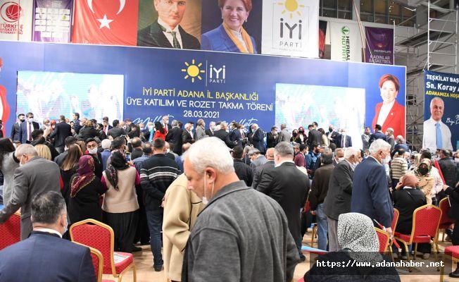 İYİ Parti Adana'da gözdağı verdi