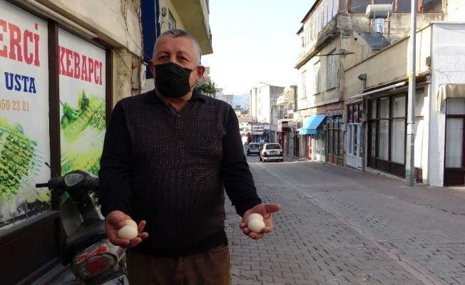 Kozan'da 'havadan yumurta yağmuru' iddiası