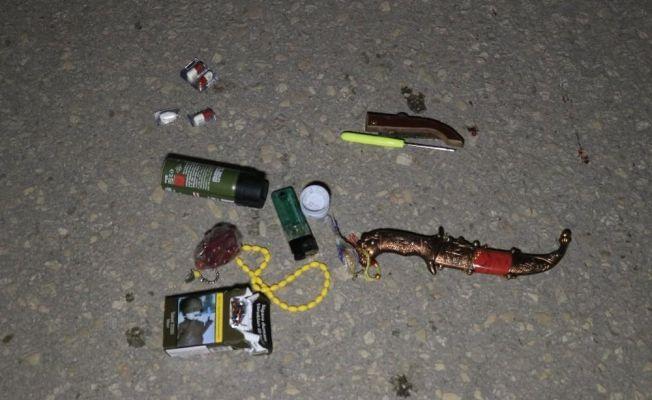 Polisi görünce kaçan 2 şüpheli kovalamaca sonucu yakalandı