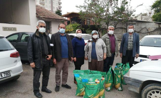Adana'da üreticilere 19 bin kg tohumluk dağıtıldı