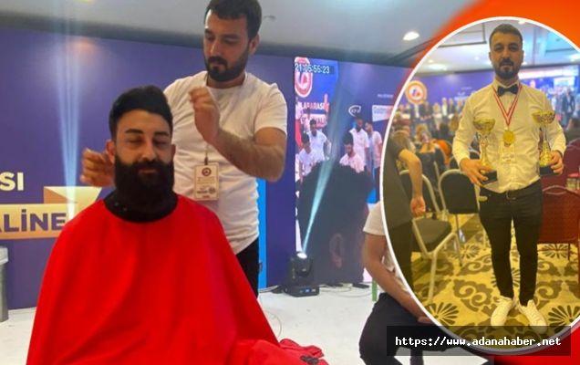 Adana'nın madalyalı berberi