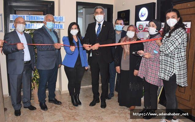 Baro Başkanı Küçük, hukuk bürosu açılışı yaptı