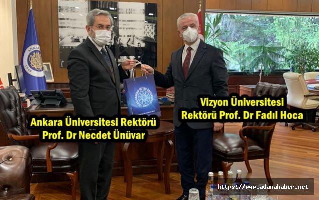 Rektörler Ankara'da buluştu