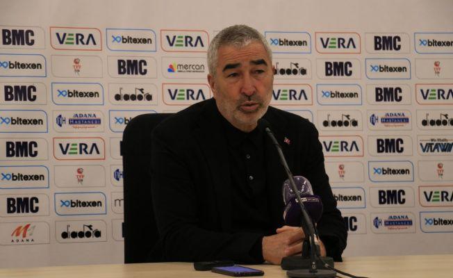 """Samet Aybaba: """"Mükemmele yakın bir oyun, her şeyi yaptı oyuncularım"""""""