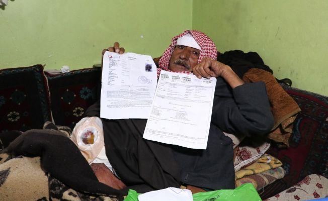Suriyeli kanser hastasını sokağa attılar