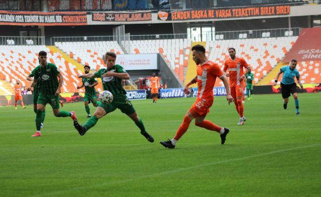 TFF 1. Lig: Adanaspor: 2 - Akhisarspor: 0 (İlk yarı sonucu)