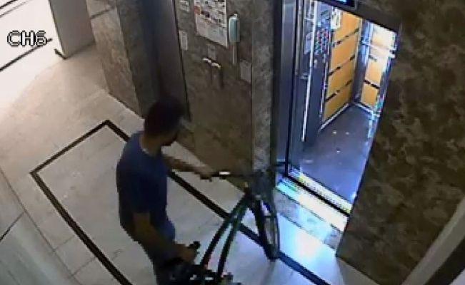 13 bisikletten sonra tutuklandı