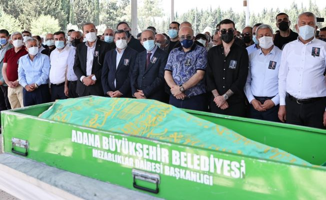 Adana Demirspor Asbaşkanı Çalık son yolculuğuna uğurlandı