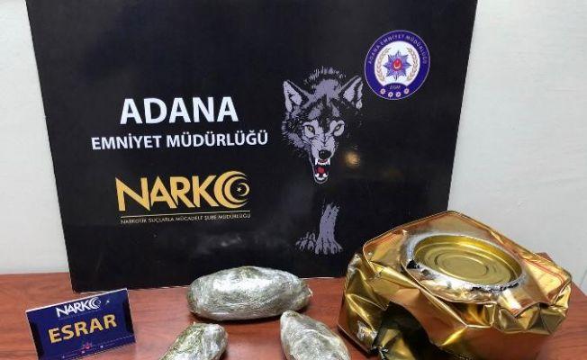 Adana'da bir haftada 4 kilo kokain, 2 kilo bonzai ele geçirildi