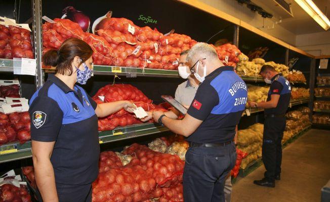 Adana'da sebze meyve fiyatları denetleniyor