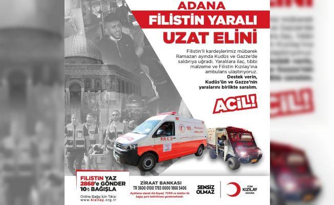Adana'dan Filistin'e yardım çağrısı
