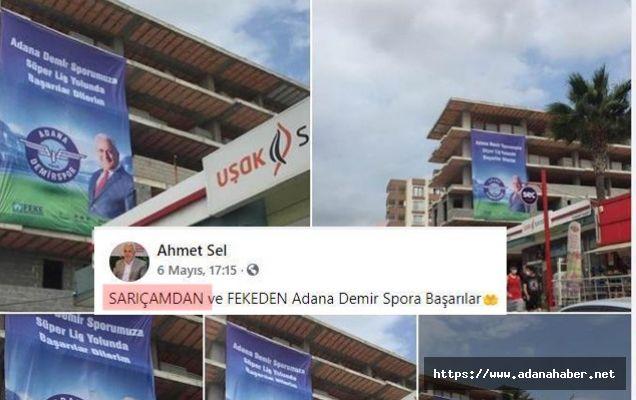 Ahmet Sel'in maksadını aşan paylaşımı