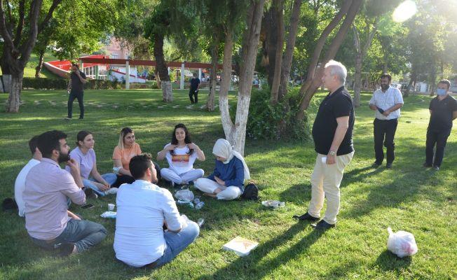Başkan Özgan, vatandaşlarla bir araya geldi