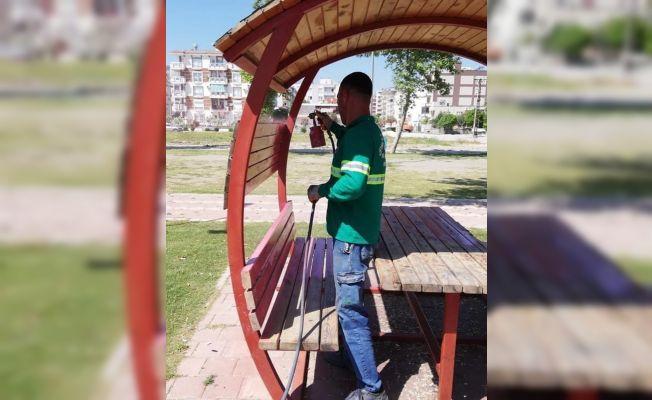 Ceyhan'da çocuk oyun alanları renkleniyor