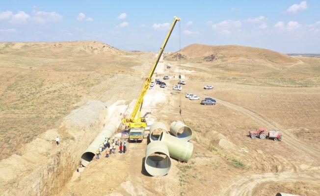 Sulama projesi106 bin kişiye istihdam sağlayacak