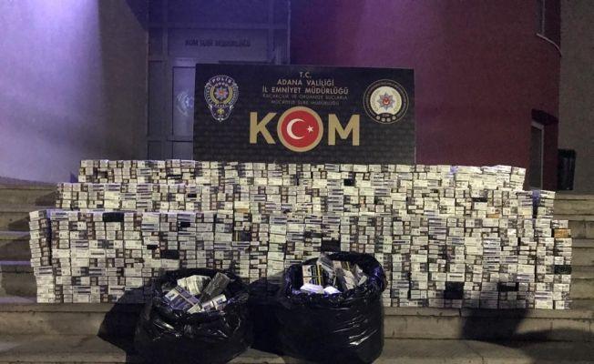 İki sigara kaçakçısı tutuklandı