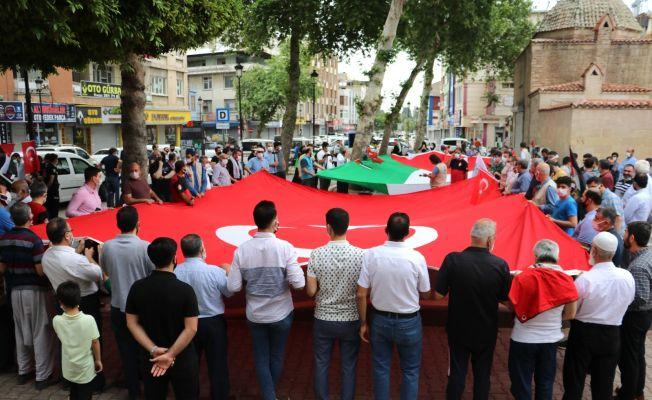 İsrail'in Mescid-i Aksa saldırısına Adana'dan tepki