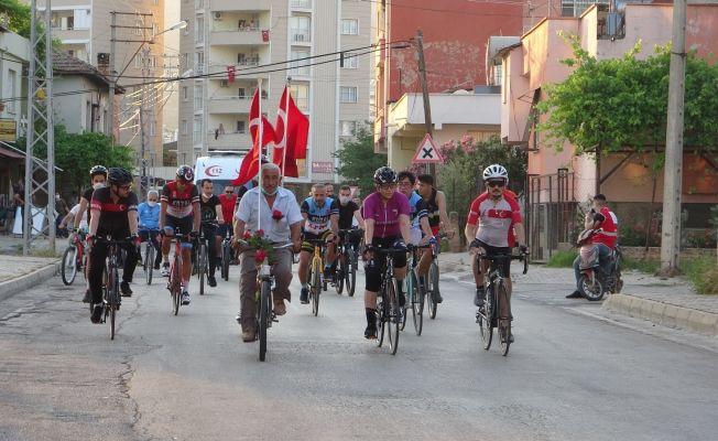 Pedallar Kozan'da 19 Mayıs Gençlik Bayramı için çevrildi