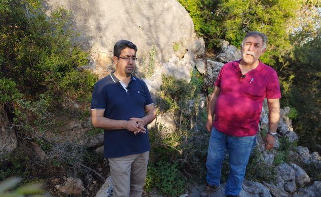Kozan'da defineciler kültür mirasını talan etti