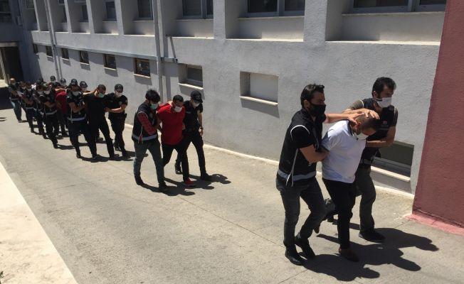 """""""Sahil Rüzgarı"""" operasyonunda 4 tutuklama"""