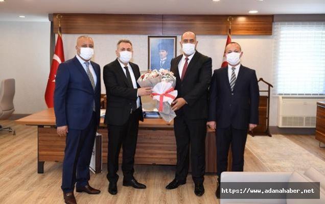 Sarıçam Oto Center Başkanı Yüksel'den Vali Elban'ı ziyaret