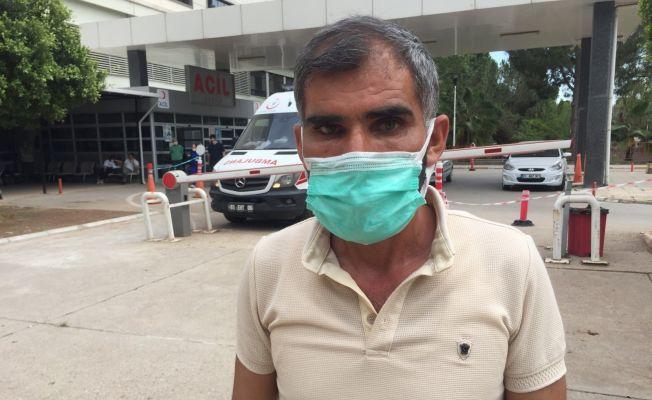 Tedavi için geldiği Adana'da kızı maganda kurşunuyla yaralandı