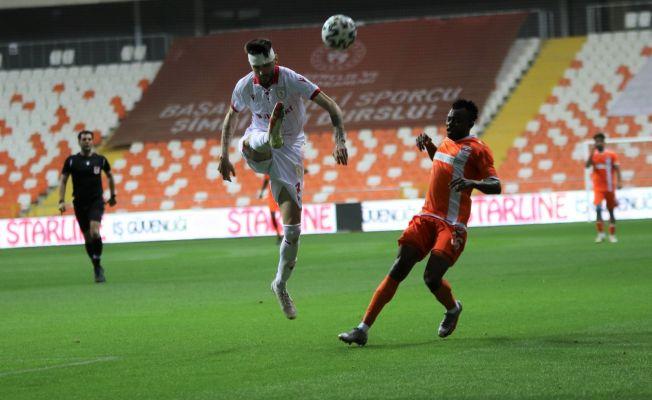 TFF 1. Lig: Adanaspor: 0 - Samsunspor: 2 (İlk yarı sonucu)