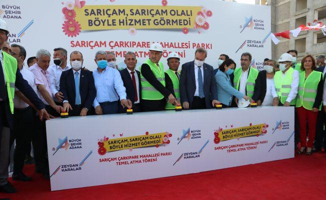 Adana Büyükşehir Belediyesinden açılış ve temel atma töreni