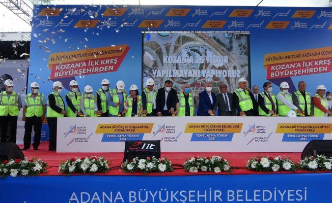 Adana Büyükşehir'den görkemli kreş temel atma töreni