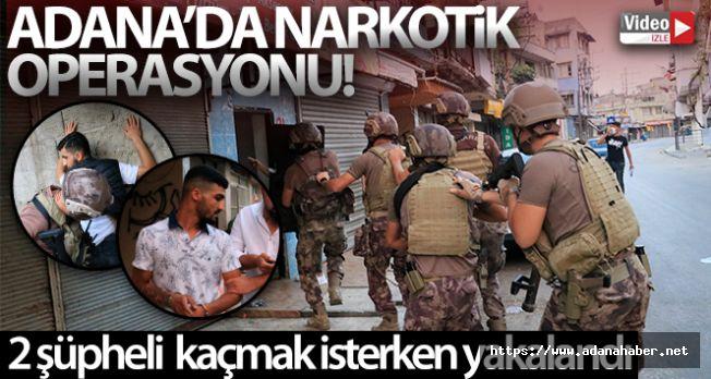 Adana film gibi narkotik operasyonu