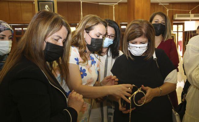 Adana temalı sim sırma sergisi açıldı