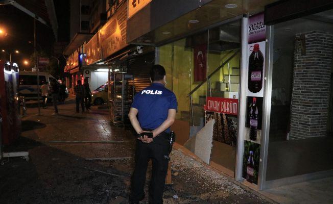 Adana'da kebapçıya kalaşnikoflu saldırı