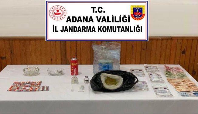 Adana'da uyuşturucu operasyonu: 6 gözaltı