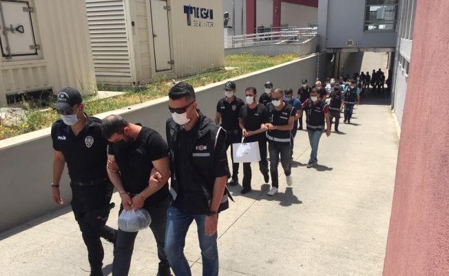 Tefeci operasyonunda 9 tutuklama